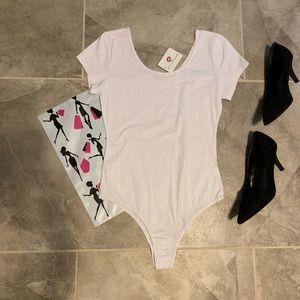 Last 3💕 White Bodysuit